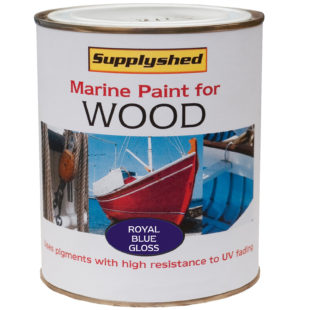 Marine Gloss Wooden Boat Paint