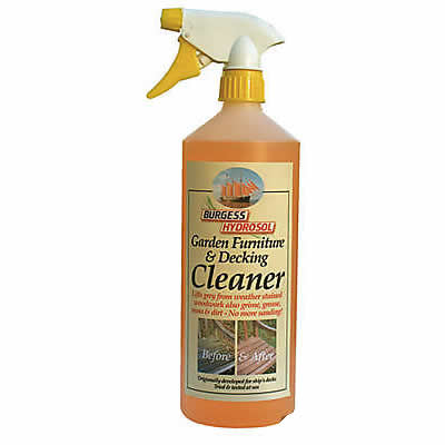 Deck Cleaner Coverage 5 To 10 M Per Litre Easy Patio