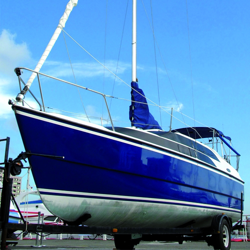 Fibreglass Boat Paint